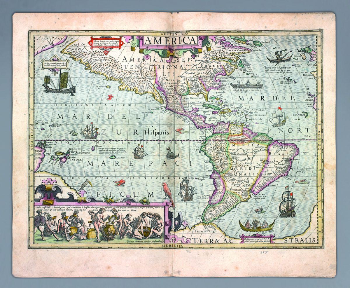 Atlas Gerarda Mercatora i Jodoca Hondiusa