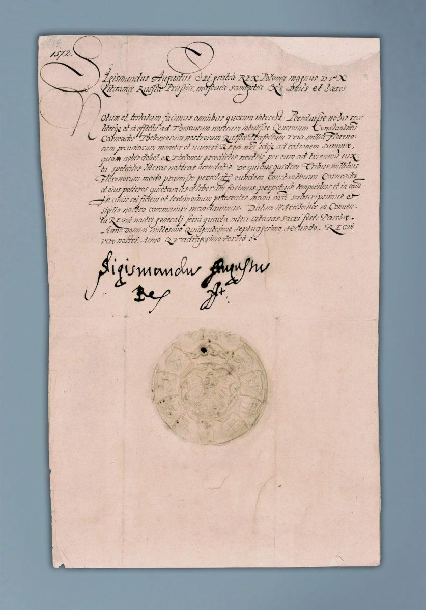list Zygmunta Augusta